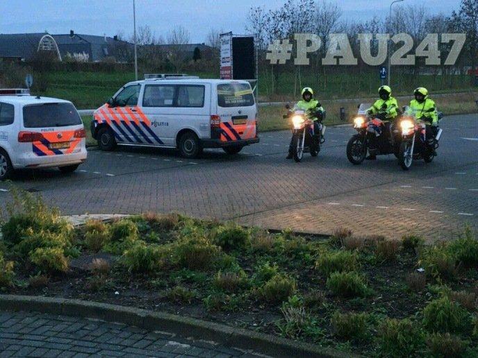 Foto Facebook Politie Aalsmeer - Uithoorn