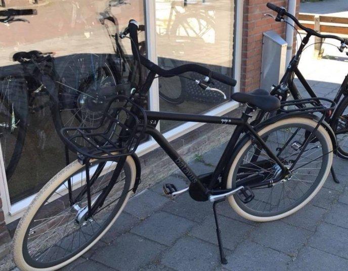 Een van de gestolen fietsen.
