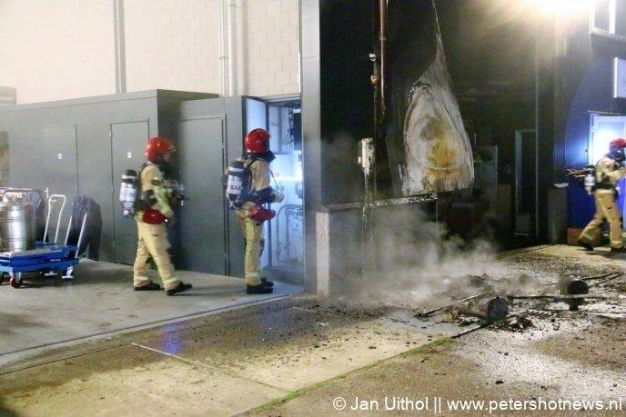 #DeKwakel - Brandweer rukt massaal uit voor brand in De Kwakel.
