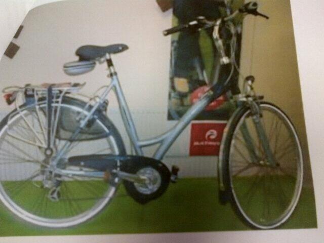 Deze fiets is maandagnacht gestolen in de wijk Molenland.