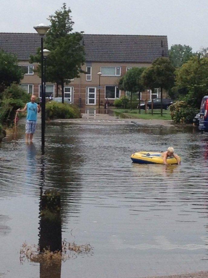 Ook lol met al het water, Scheepmaker Wilnis, foto: @annekegrobben