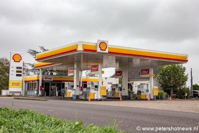 De Shell aan de Mijdrechtse Dwarsweg moest zijn deuren sluiten. Tanken was niet mogelijk.