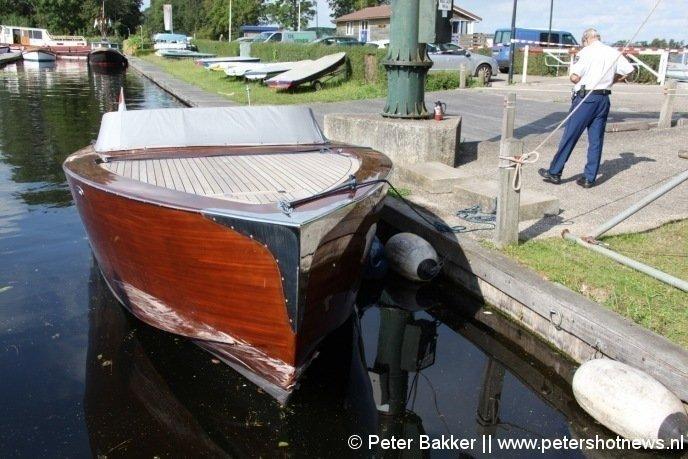 De boot van de verdachten