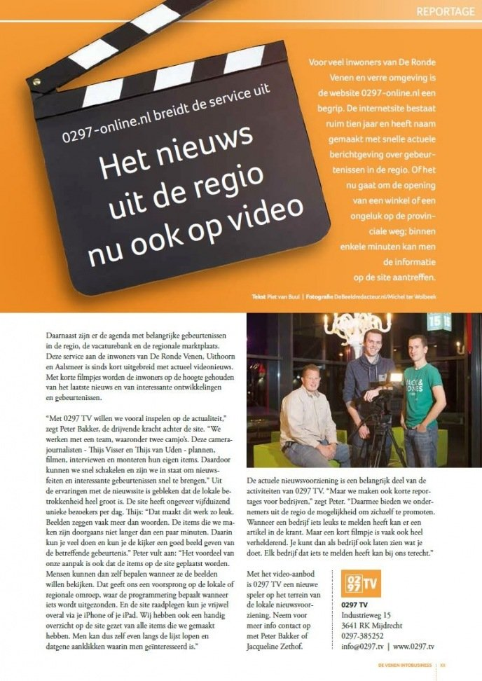 Artikel De Venen INTO Business