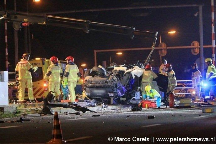 Archieffoto van het ongeluk