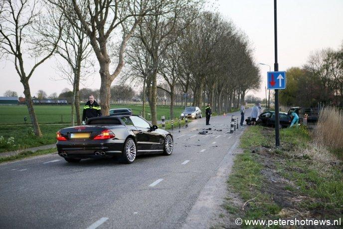 De Mercedes kwam vanaf de andere kant (en had dus geen voorrang)