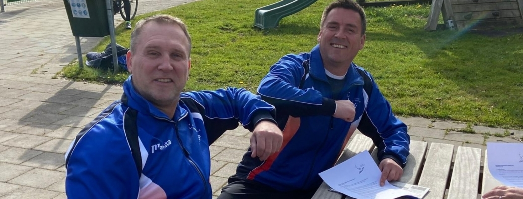 Trainers korfbalvereniging Atlantis selectie verlengen contract