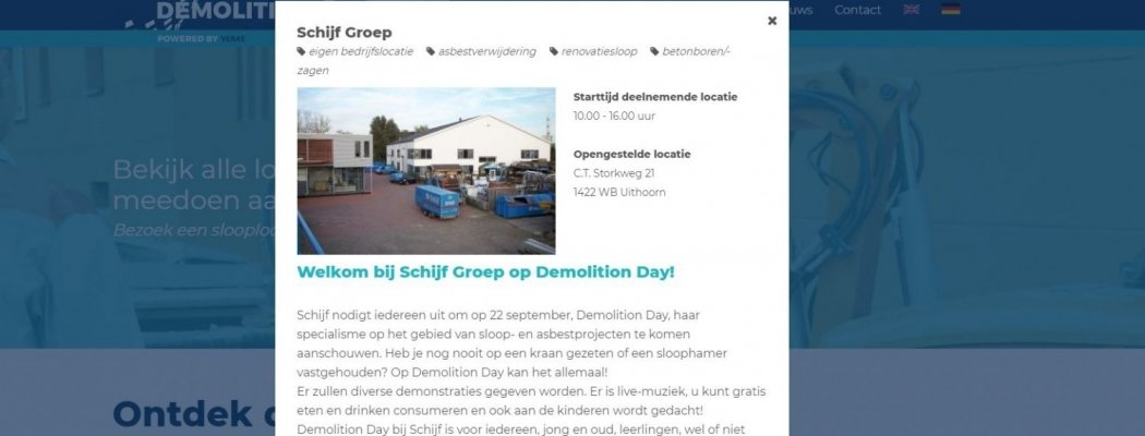 Demolition Day 2018 in Uithoorn