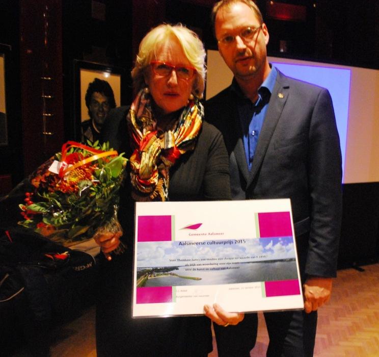 0297.nl | Cultuurprijs voor (afwezige) Theodore van Houten Theodore Van Houten