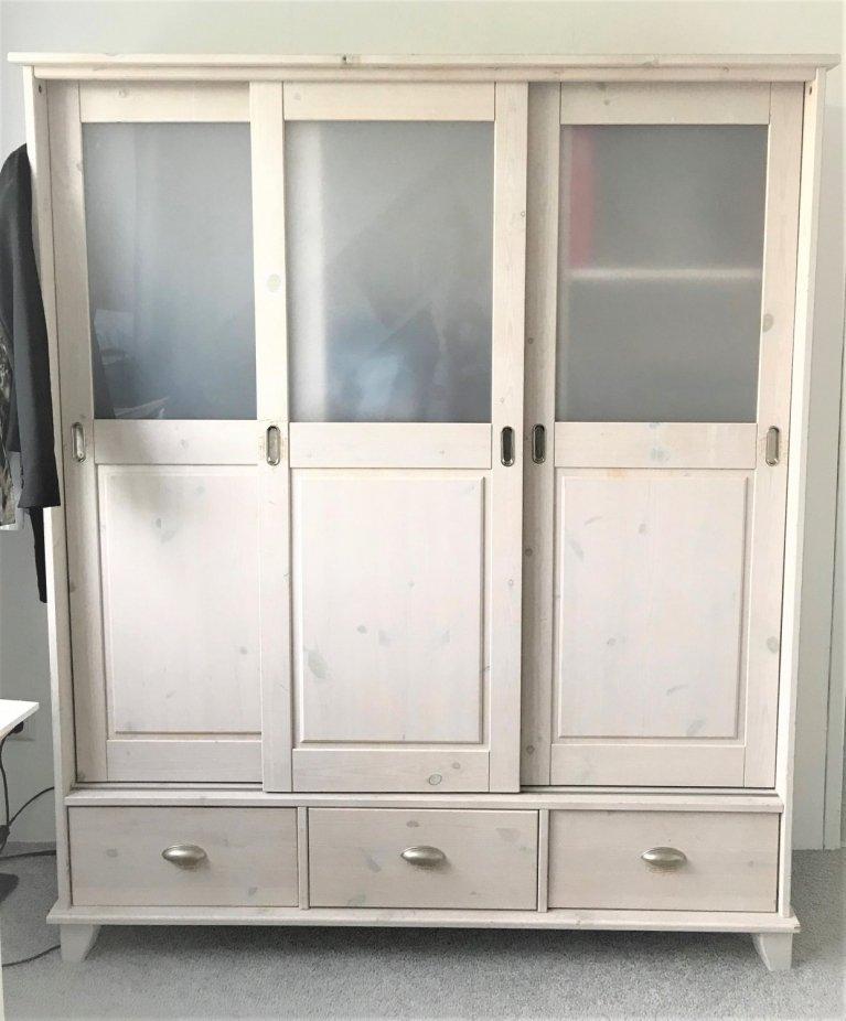 White Wash Hangkast.0297 Nl Superleuke Kledingkast White Wash Aangeboden Huis En Tuin