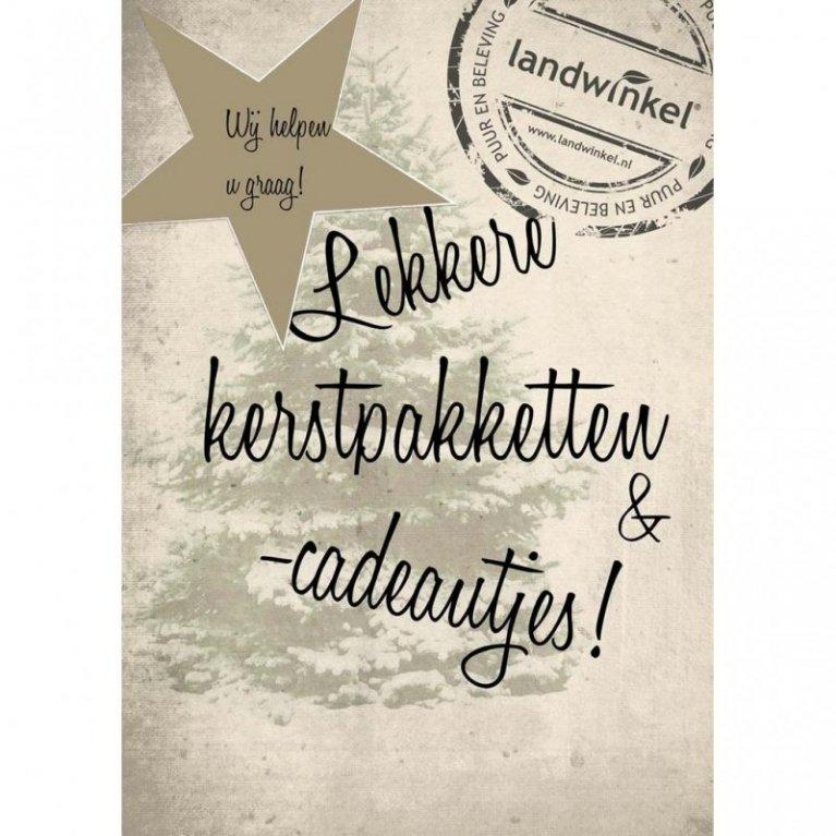 0297 Nl Landwinkel De Lindenhorst Verzorgt Uw Kerstpakket