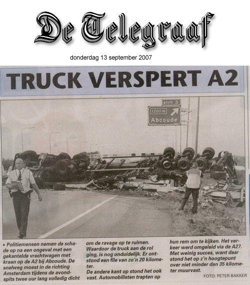 De Telegraaf || 13 september 2007